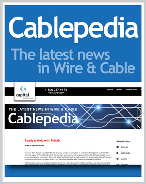 Cablepedia | The latest news in Wire & Cable