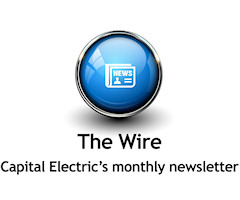 The Wire - Capital Electric's monthly newsletter