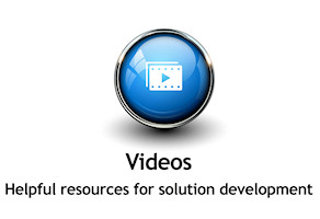 Videos - Helpful resources for solution development