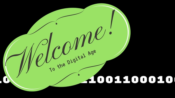 Welcome to the Digital Age Banner